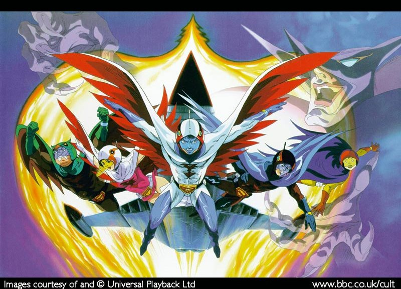 G Force Cartoon Characters : Battle of the planets cult faction
