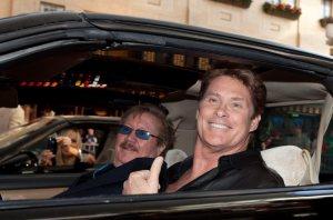 David Hasselhoff and Mayor Goodman Kick Off 2010 Knight Rider Festival in Las Vegas, NV on March 19, 2010