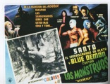 Santo y Blue Demon contra los monstrous