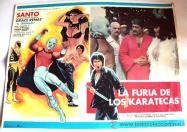 Santo en la furia de los karatekas