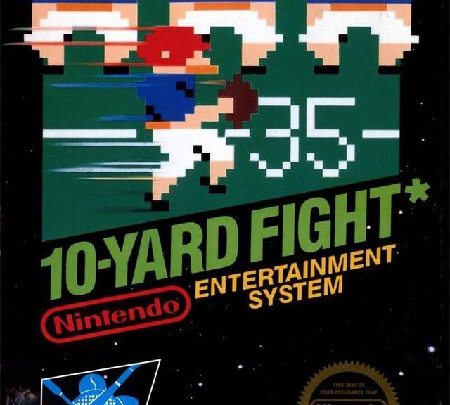 10 Fight 10: Cult Video Game Essentials: 10-Yard Fight (1983)