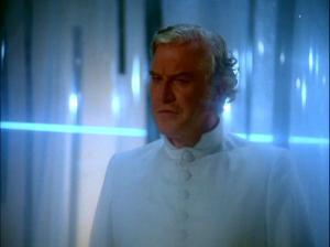 Edward Mulhare as John.