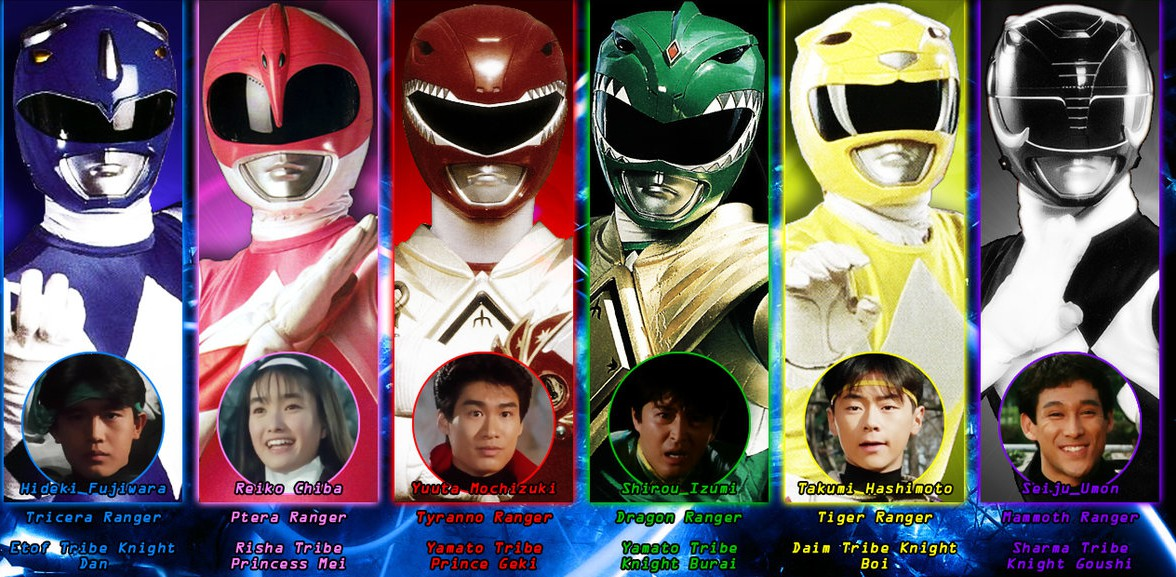 Super Sentai Zyuranger: The Complete Series to be released by ...
