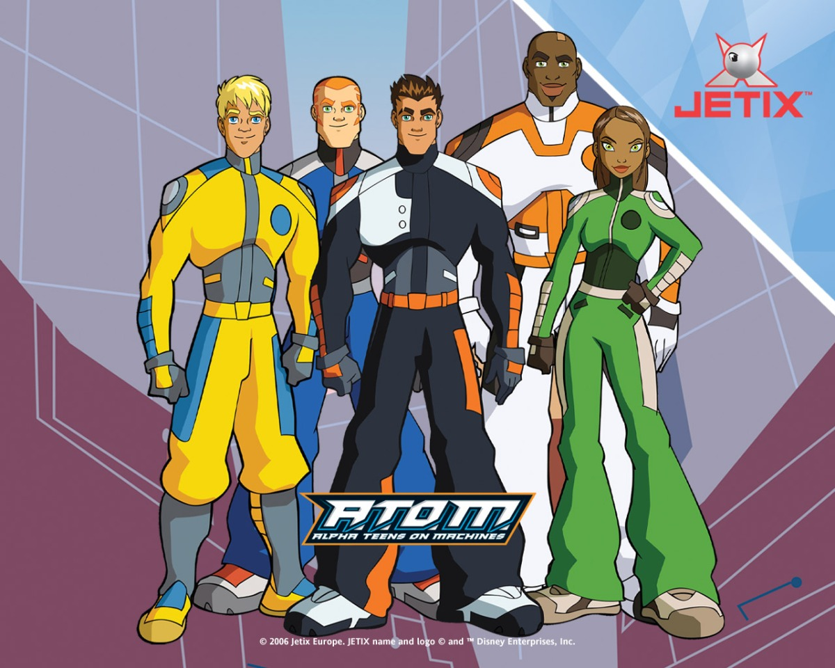 Cult Cartoon Essentials: A.T.O.M.