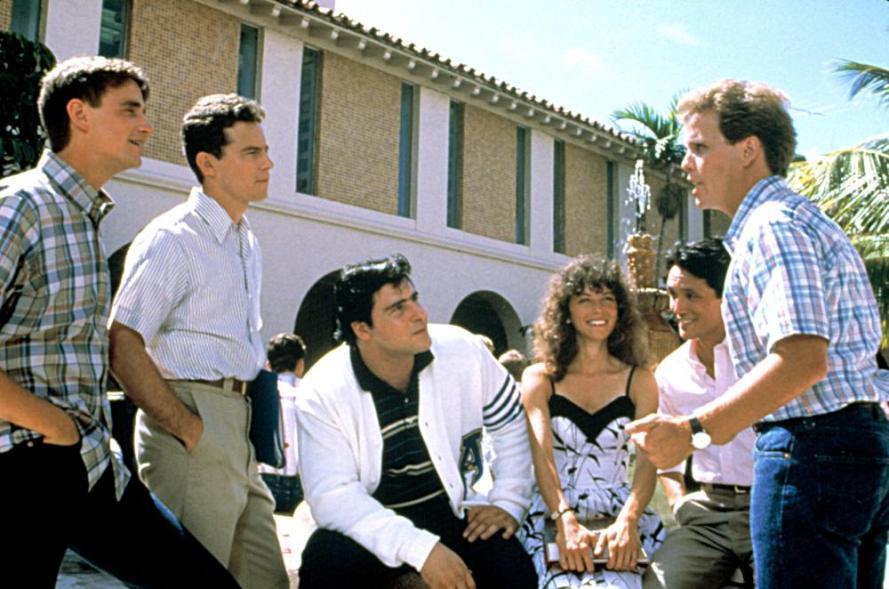 PORKY'S REVENGE, Mark Herrier, Tony Ganios, Kaki Hunter, Dan Monahan, 1985, TM and Copyright (c)20th Century Fox Film Corp. All rights reserved.