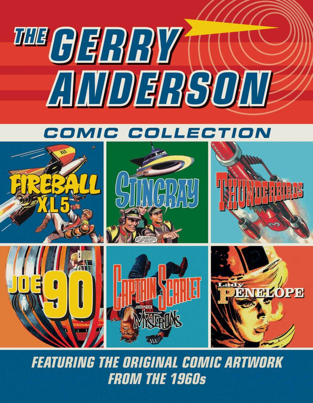 gerry-anderson-comic-collection