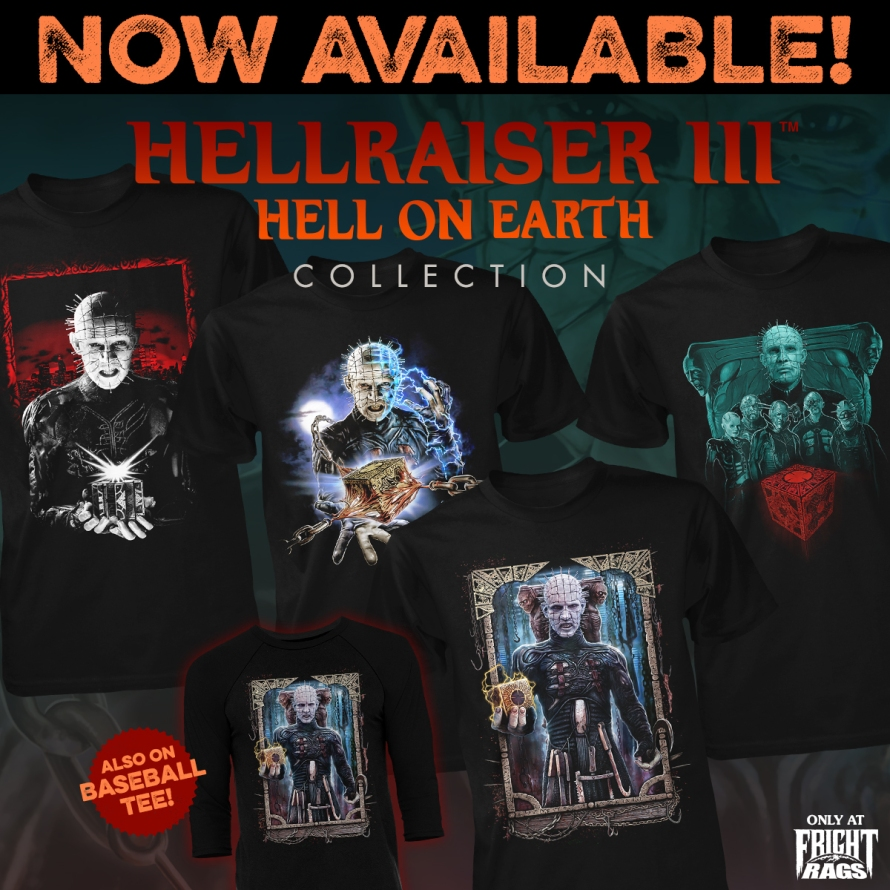 Fright-Rag releases Stephen King's IT cover art shirt, plus