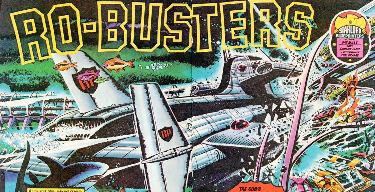 Mega City Book Club Episode 46: Ro-Busters
