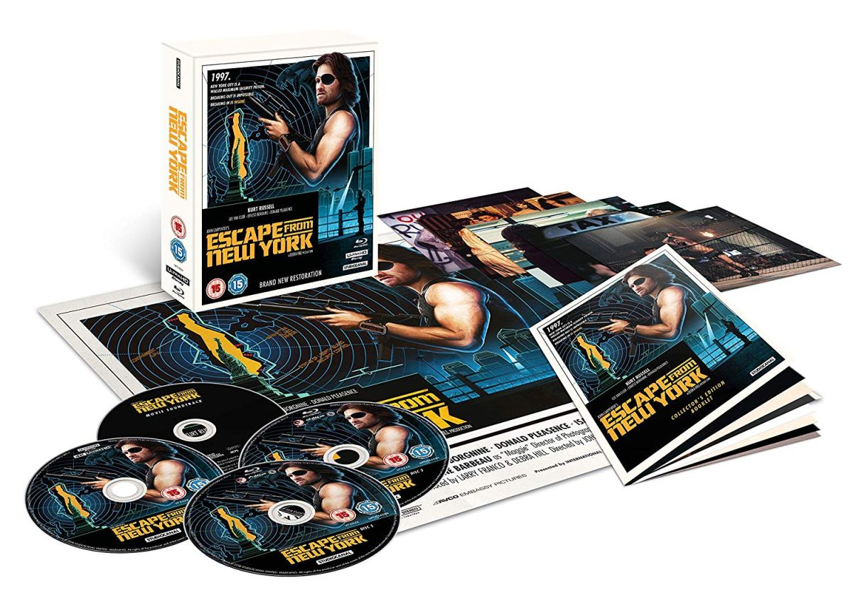 Preview- Escape From New York - Collectors Edition (Bluray)