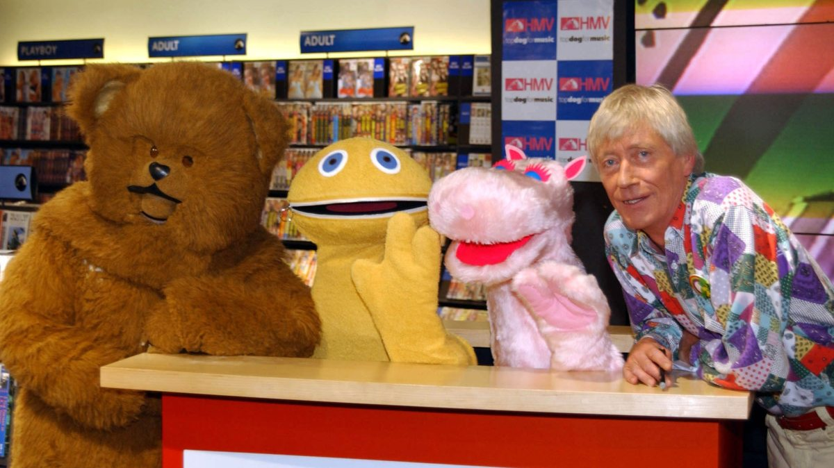 Geoffrey Hayes - A Life Over The Rainbow