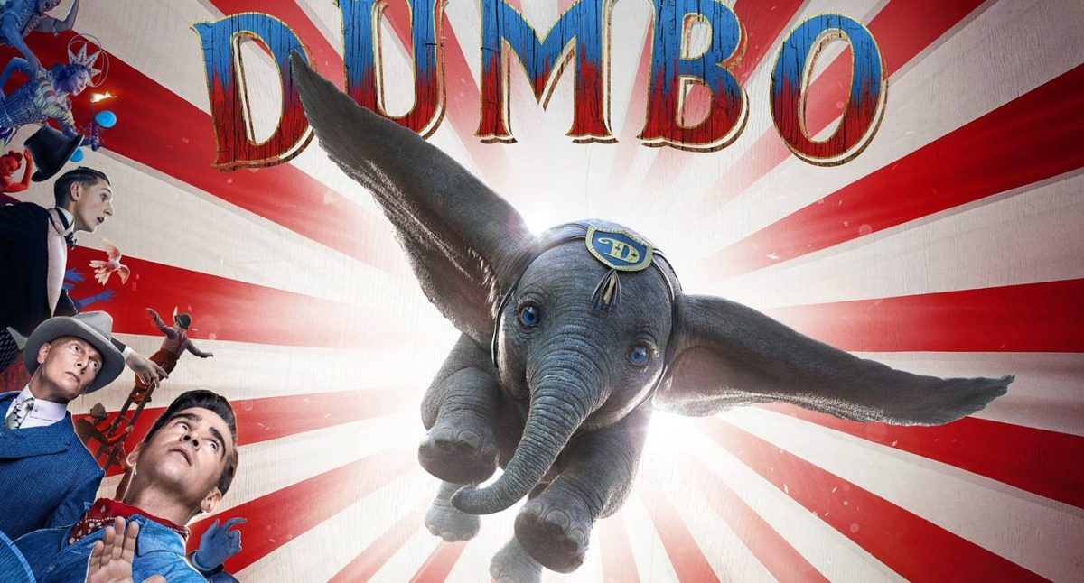 Poster released for Tim Burton's live action Dumbo