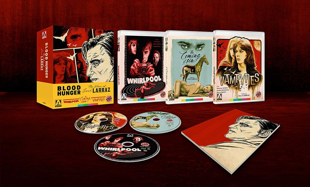 Preview- Blood Hunger: The Films of José Larraz (Bluray)