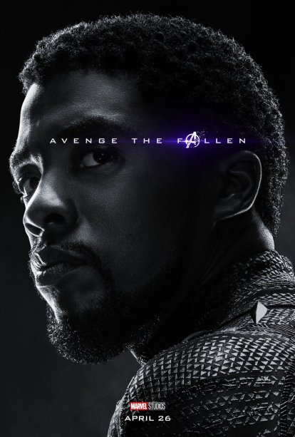 Avenge The Fallen - Black Panther