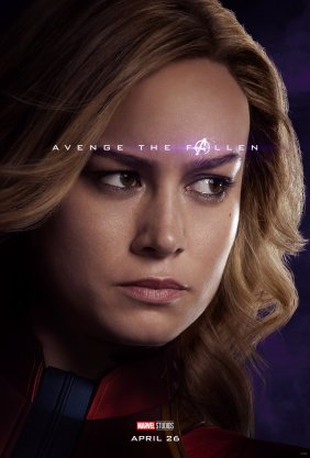 Avenge The Fallen - Captain Marvel