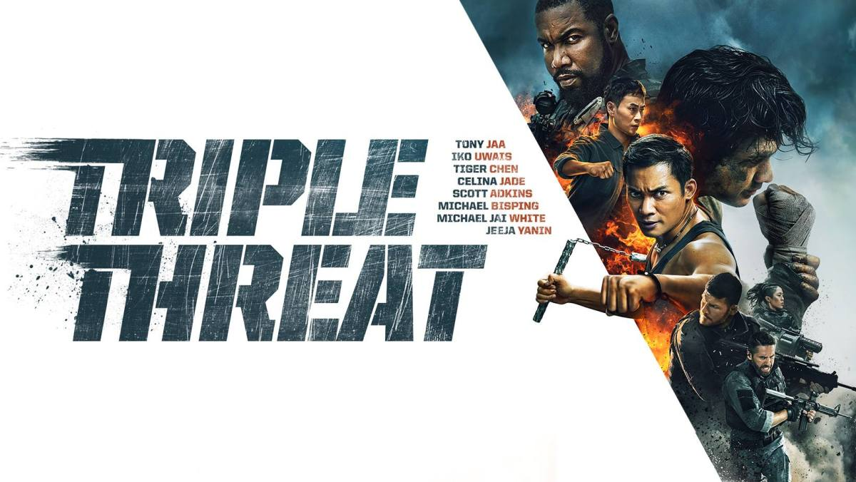 Triple Threat releases a new action packed scene ahead of its release!