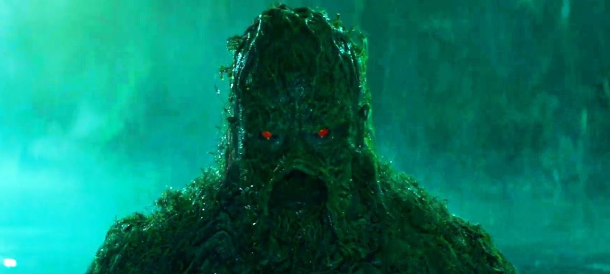 New trailer released for Swamp Thing